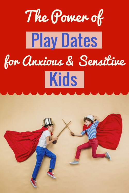 Play dates and the anxious child